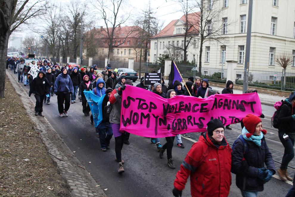 2011 - Demonstration - Stop violence