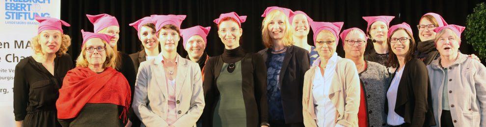 Impressionen der landesweiten Veranstaltung des Frauenpolitischen Rates zur 27. Brandenburgischen Frauenwoche